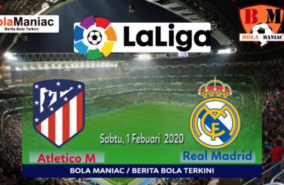 Prediksi Skor Atletico Madrid Vs Real Madrid agen SBOBET Bola165.co