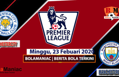 Prediksi skor Manchester City Vs LeicesterCity Di liga English