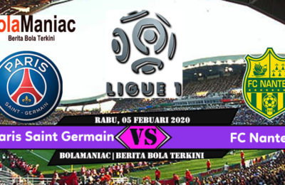 Prediksi Skor Paris Saint Germain Vs FC Nantes di Laga Ligue 1