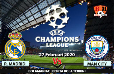 Prediksi Skor Manchester City Vs Real Madrid Laga UEFA League